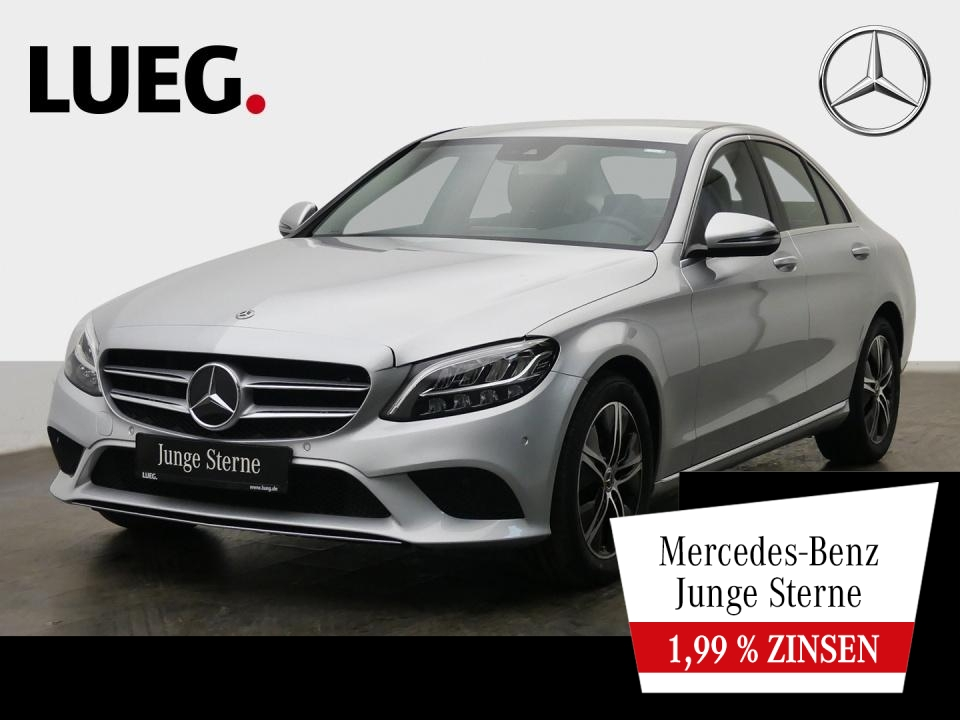 Mercedes-Benz C 200 d Avantgarde+Navi+LED-HP+SpurP+ParkAss+RFK, Jahr 2020, Diesel
