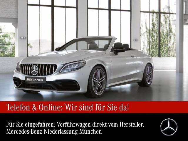 Mercedes-Benz C 63 S Cabriolet Sportpaket Head Up Display Navi, Jahr 2021, Benzin