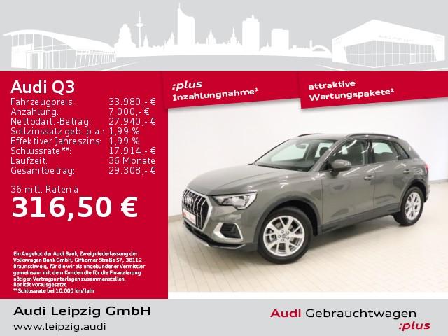 Audi Q3 35 TFSI advanced S tronic, Jahr 2020, Benzin