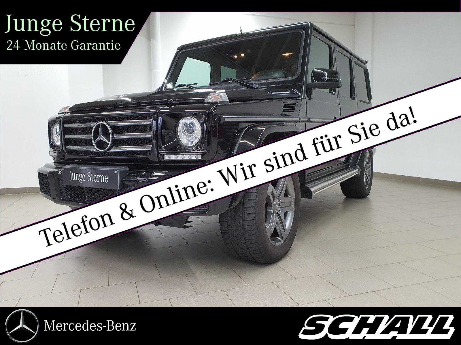 "Mercedes-Benz G 350 d AHK/19""AMG/DISTR/HARMAN/STANDHZ/KAM/XENO, Jahr 2015, diesel"
