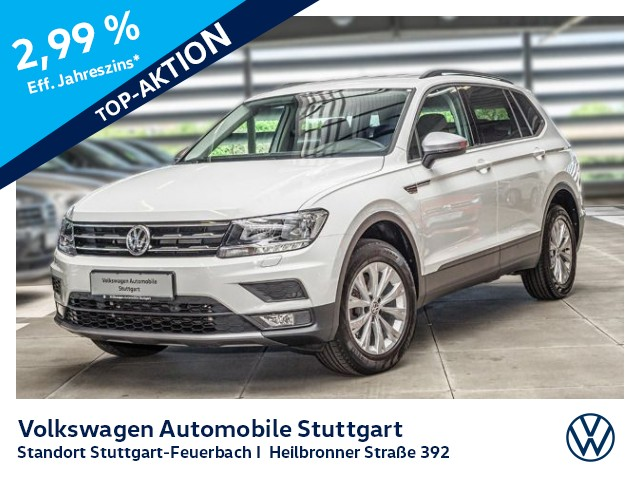 Volkswagen Tiguan 1.4 TSI Allspace 7-Sitze Klima AHK, Jahr 2018, Benzin