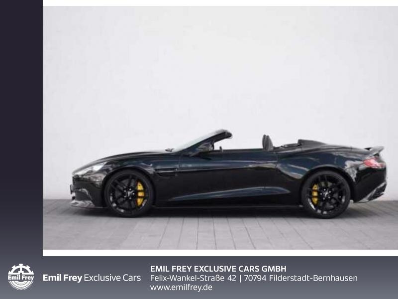 Aston Martin Vanquish Volante Carbon Edition, Jahr 2015, Benzin