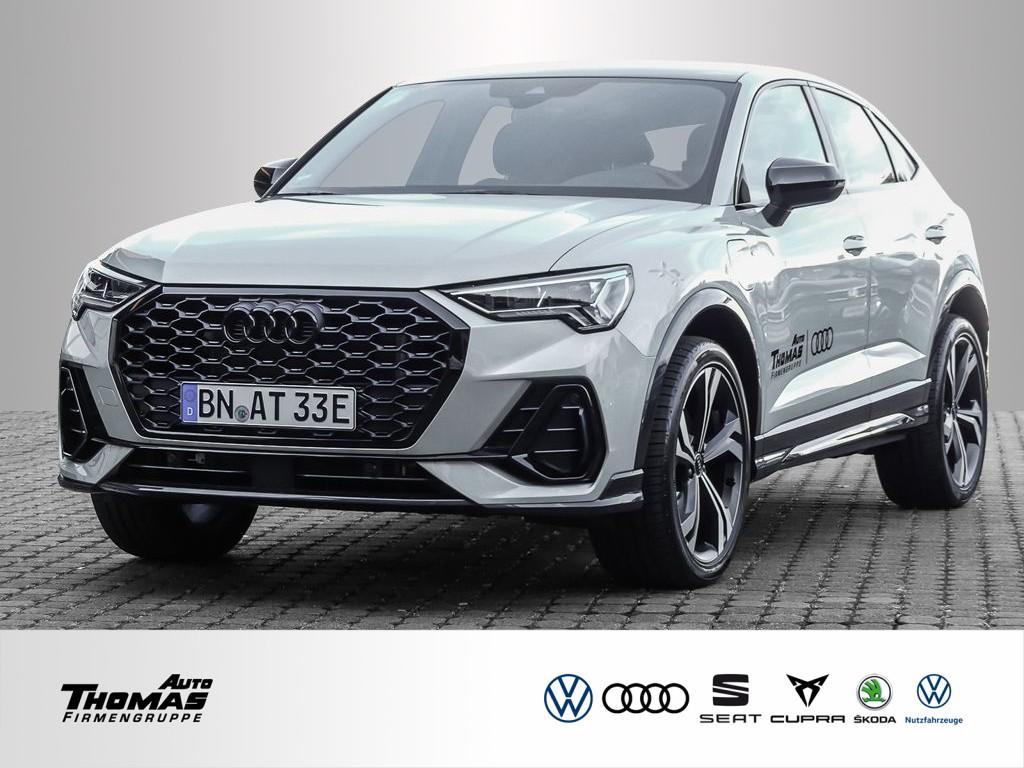 Audi Q3 Sportback 45 TFSI e S line+NAVI+PANORAMADACH, Jahr 2021, Hybrid