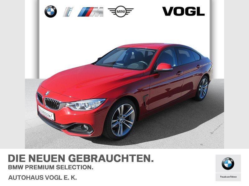 BMW 420d Gran Coupé Sport Line Head-Up HiFi DAB RFK, Jahr 2015, Diesel