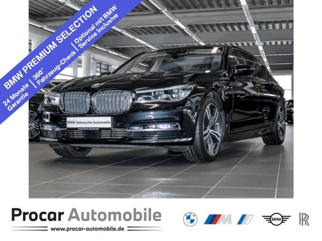 BMW M760Li xDrive Fond Entertatin B&W DA+ Sky Lounge, Jahr 2017, Benzin