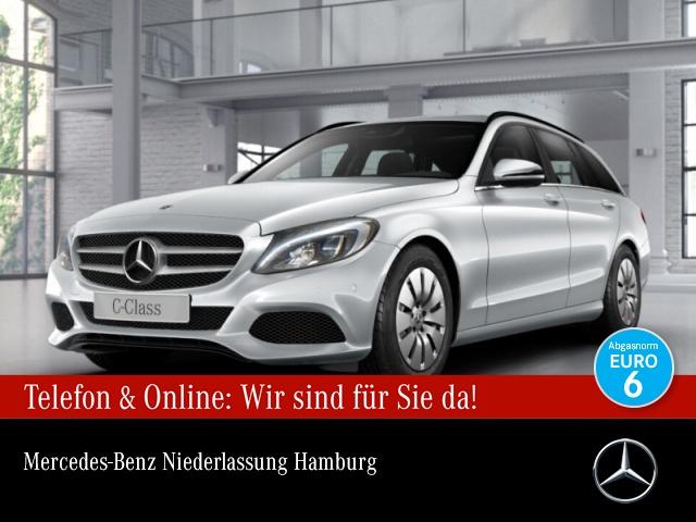 Mercedes-Benz C 200 d T Burmester COMAND LED AHK Kamera PTS 9G, Jahr 2017, Diesel