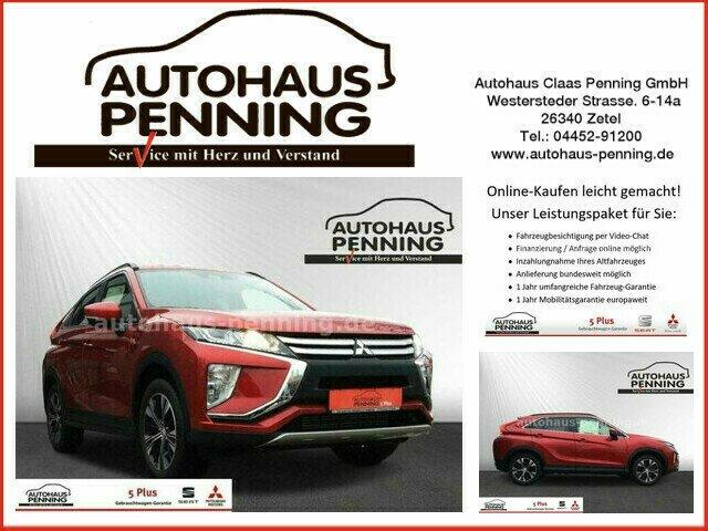 Mitsubishi Eclipse Cross DIAMANT EDITION 1,5 l TEMPOMAT, Jahr 2019, Benzin