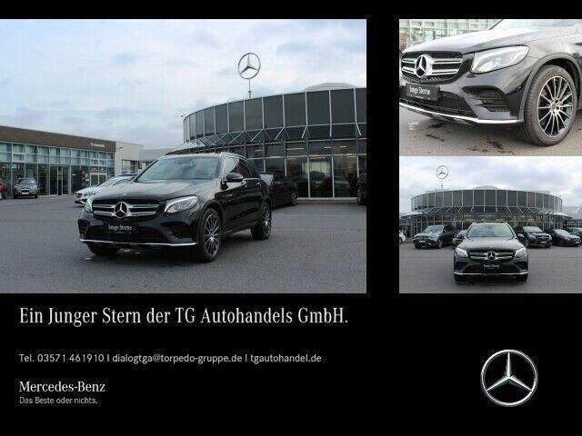 Mercedes-Benz GLC 350 d 4M AMG LINE LED+NAVI+DAB+SHZ+TEMPOMAT, Jahr 2017, diesel