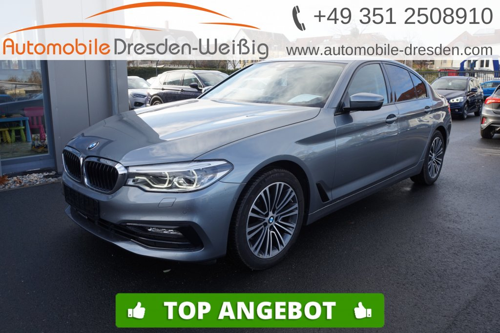 BMW 520 d Sport Line*Navi Prof*HeadUp*Leder*ACC*DAB*, Jahr 2017, Diesel