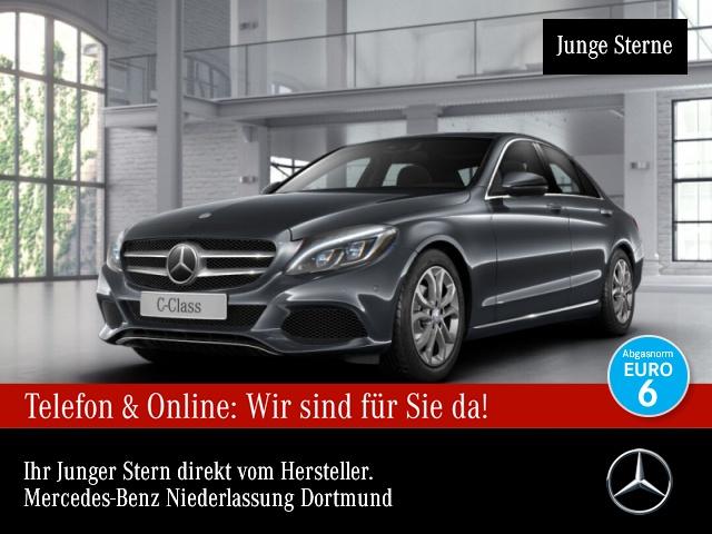 Mercedes-Benz C 180 Avantgarde Distr+ COMAND ILS LED Totwinkel, Jahr 2016, Benzin