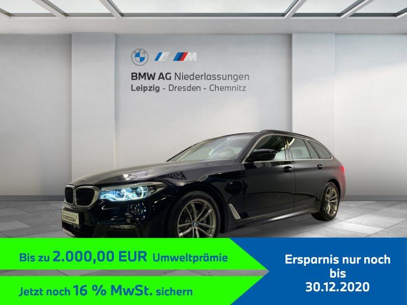 BMW 520d Touring EURO6 Sportpaket Head-Up HiFi LED Pano.Dach, Jahr 2019, Diesel