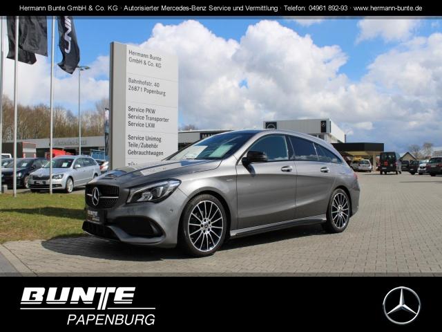 Mercedes-Benz CLA 200 Shooting Brake+AMG Line+7G-DCT+NAVI+LED+, Jahr 2017, Benzin