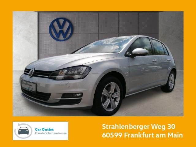 Volkswagen Golf VII 2.0 TDI DSG Comfortline Einparkhilfe Navi Xenon Leichtmetallfelgen Golf 2,0 CLBM 110fTDID6F, Jahr 2017, Diesel