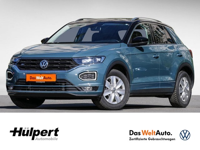 Volkswagen T-Roc 2.0 TDI IQ.DRIVE R-Line DSG LED NAVI CAM APP CONN ACC ALU19, Jahr 2019, Diesel