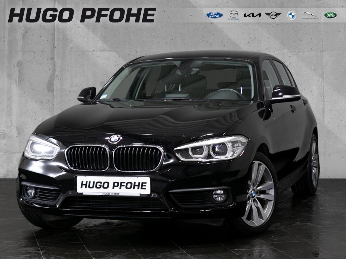BMW 120i Aut. Navi LED SHZ Tempo Navi Automatik, Jahr 2017, Benzin