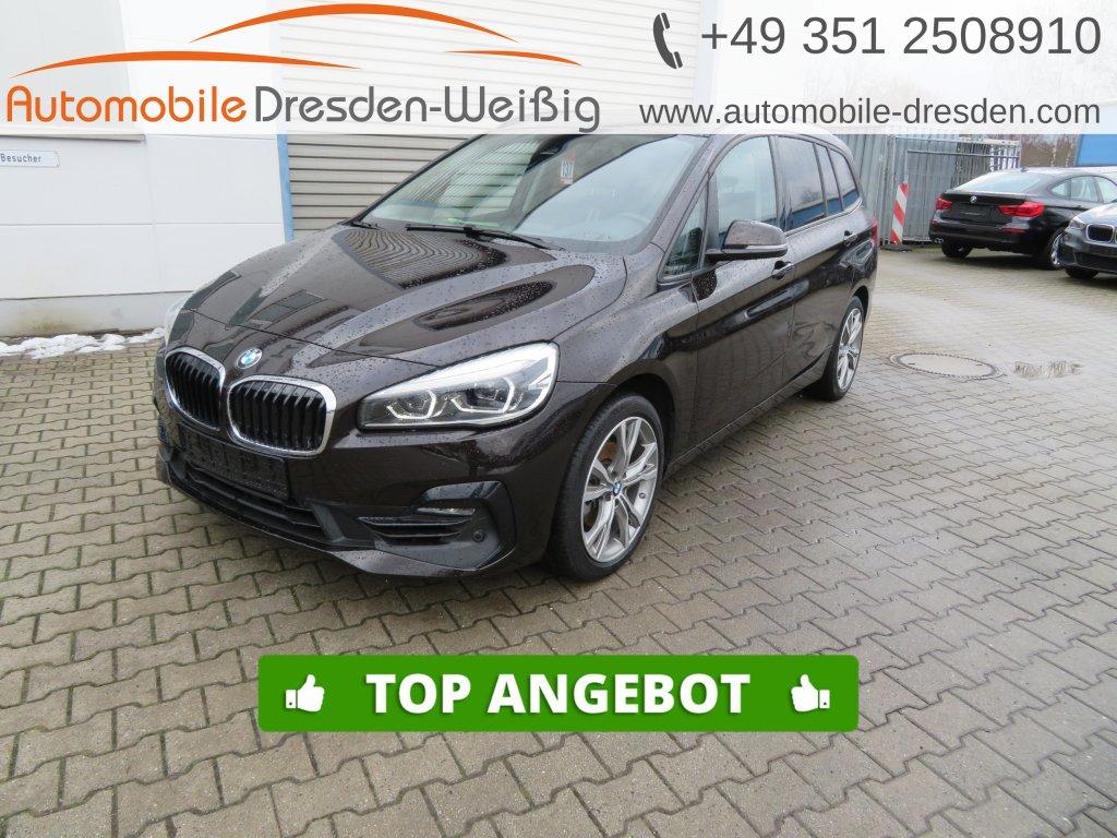 BMW 216 Gran Tourer i Sport Line*Navi*Pano*LED*18, Jahr 2018, Benzin