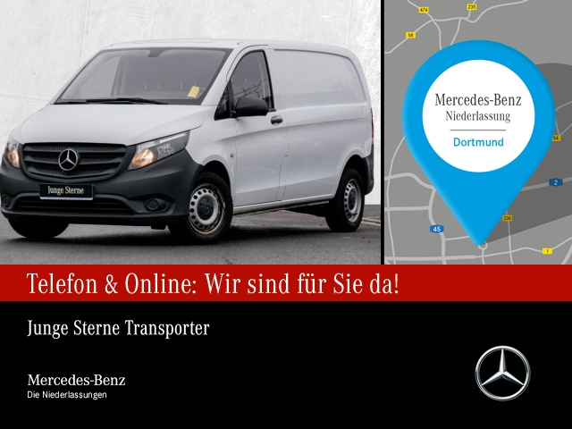 Mercedes-Benz Vito 109 d WORKER Kompakt Attention-Ass. Tempom., Jahr 2016, Diesel