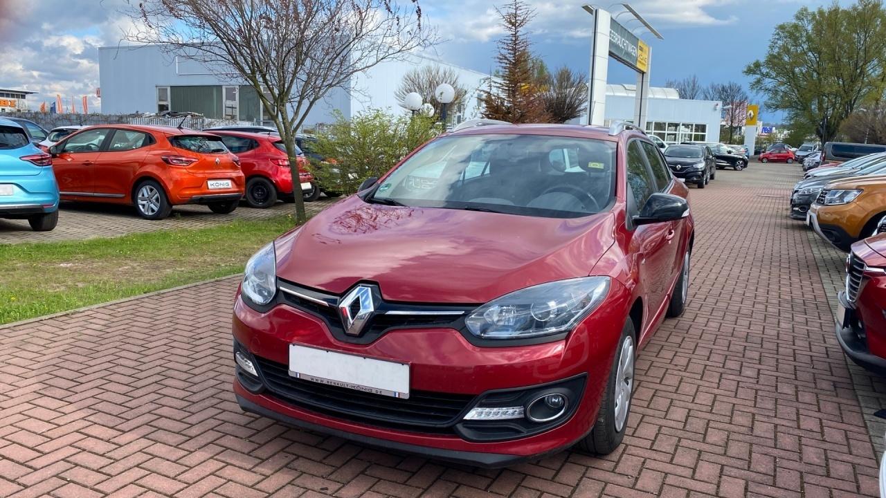 Renault Megane Kombi LIMITED 1.6 110PS Klimaanlage, Jahr 2015, Benzin