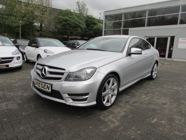Mercedes-Benz C 250 Coupe/Navi/PDCv+h/Klimaauto./Sitzheizung/Xenon, Jahr 2012, petrol