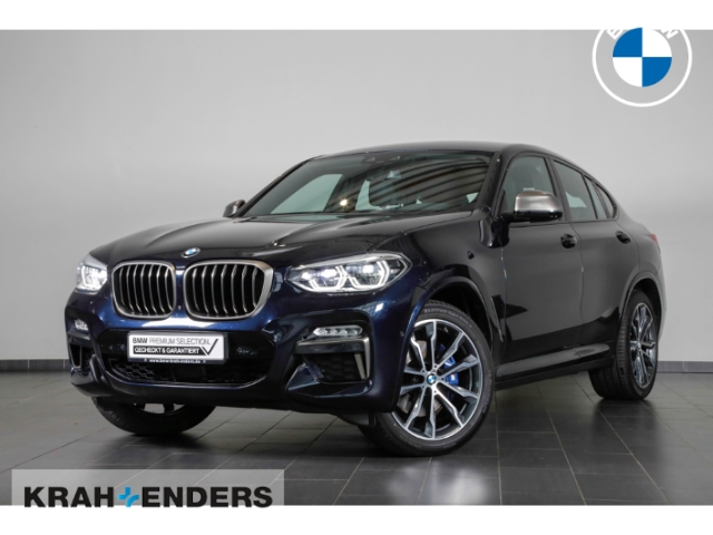 BMW X4 M40 d StandHZG+HUD+LED+ACC+Rückfahrkam.+AHK, Jahr 2019, Diesel