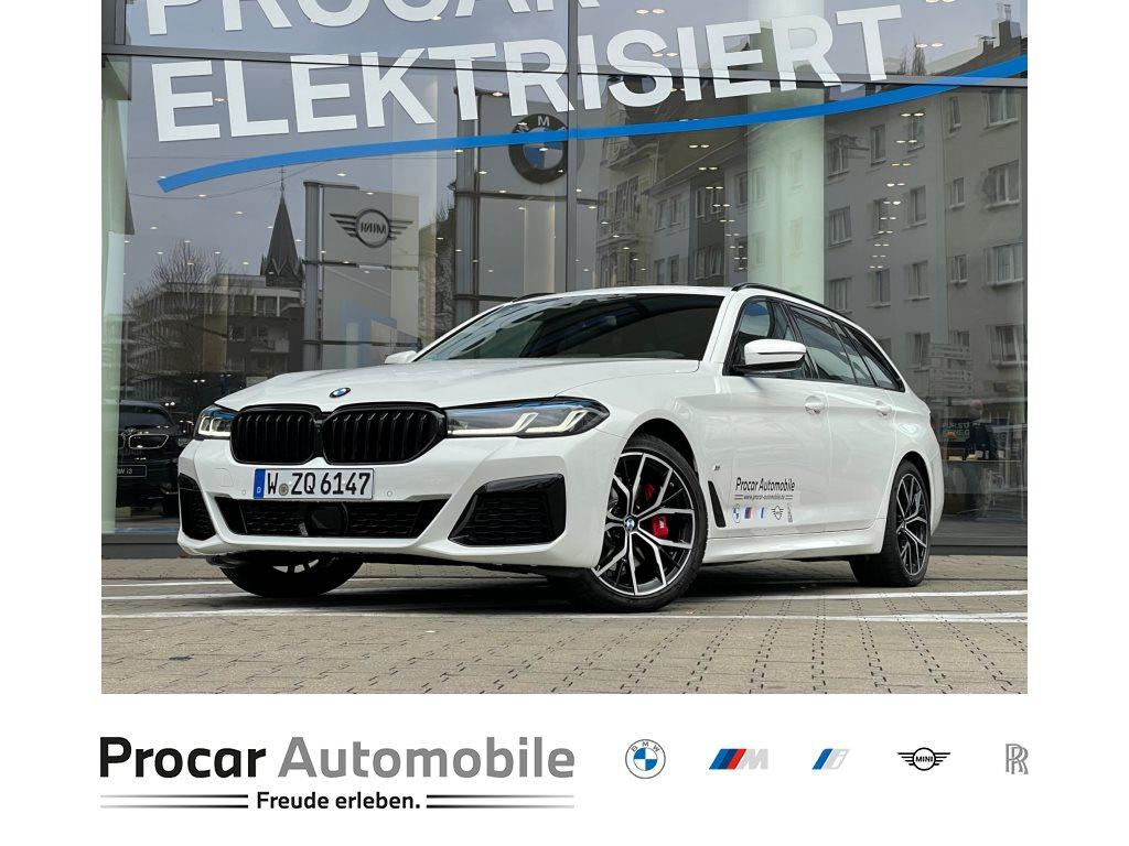 BMW 520d Touring Sportpaket Head-Up DAB AHK LED WLAN, Jahr 2021, Diesel