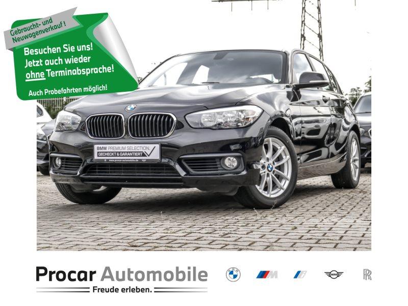 BMW 120i 5-Tuerer Advantage+ Navi Bus. +Tempomat+ Shz, Jahr 2018, Benzin