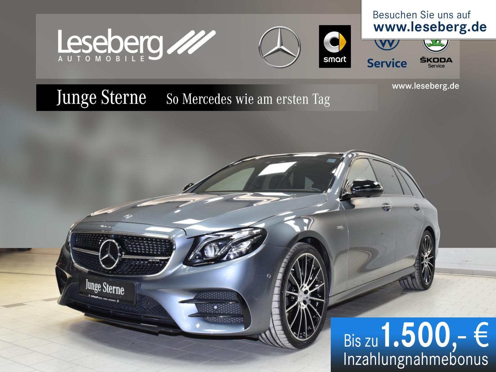 Mercedes-Benz Mercedes-AMG E 53 4M+ T Night/Burmester/Fahrass., Jahr 2019, Benzin