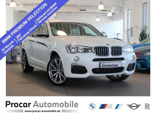 BMW X4 M40i M-Sport+Kamera+DAB+LED+Standhz+H/K-Sound, Jahr 2017, Benzin