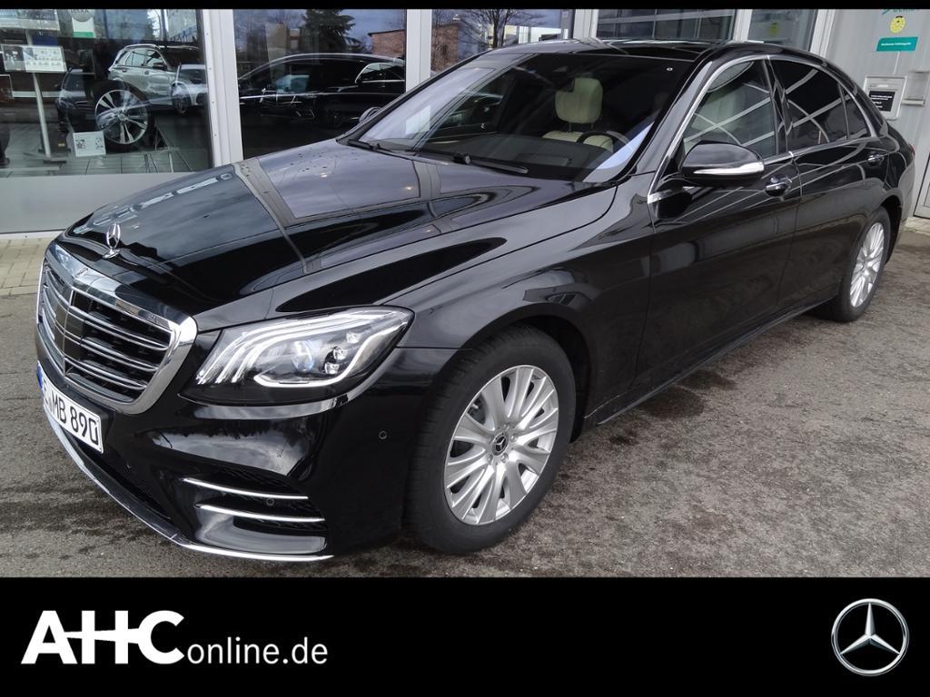 Mercedes-Benz S 350 d 4M lang MULTIBEAM+SITZKLIMA+HUD+BURMEST., Jahr 2020, Diesel