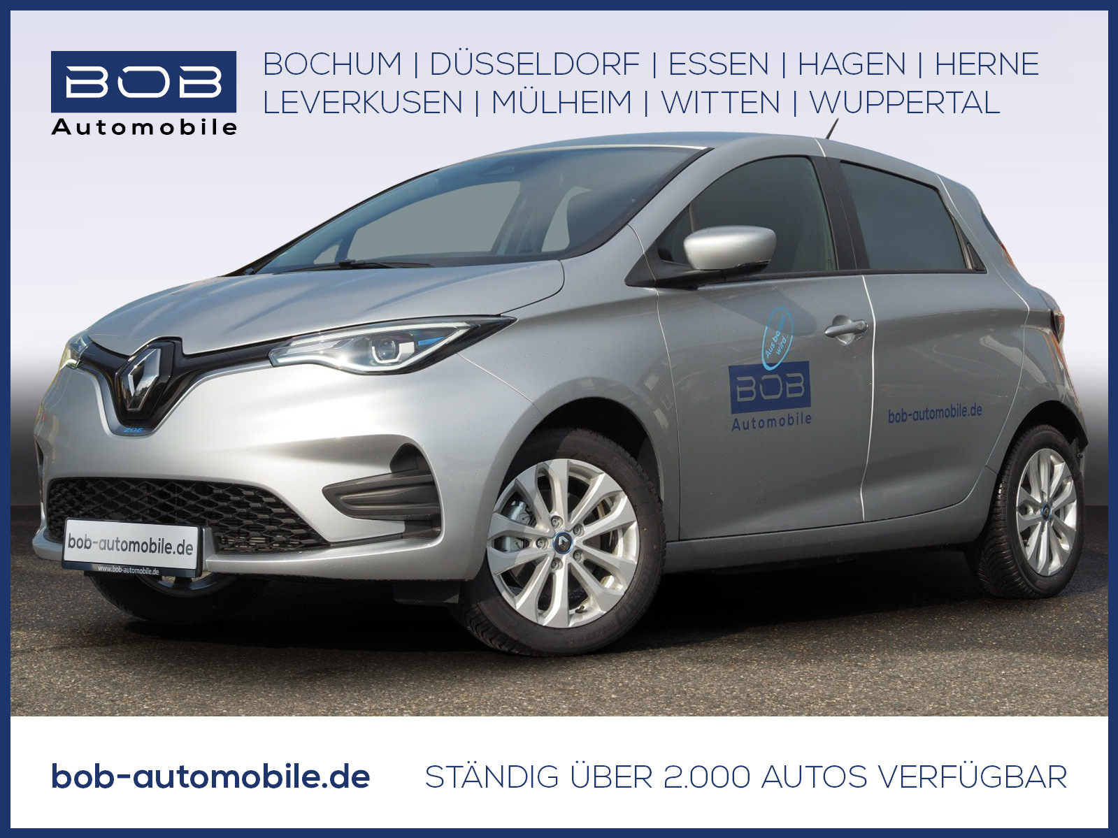 Renault ZOE EXPERIENCE Batteriemiete R110 Z.E. 50 KLIMA, Jahr 2020, Elektro