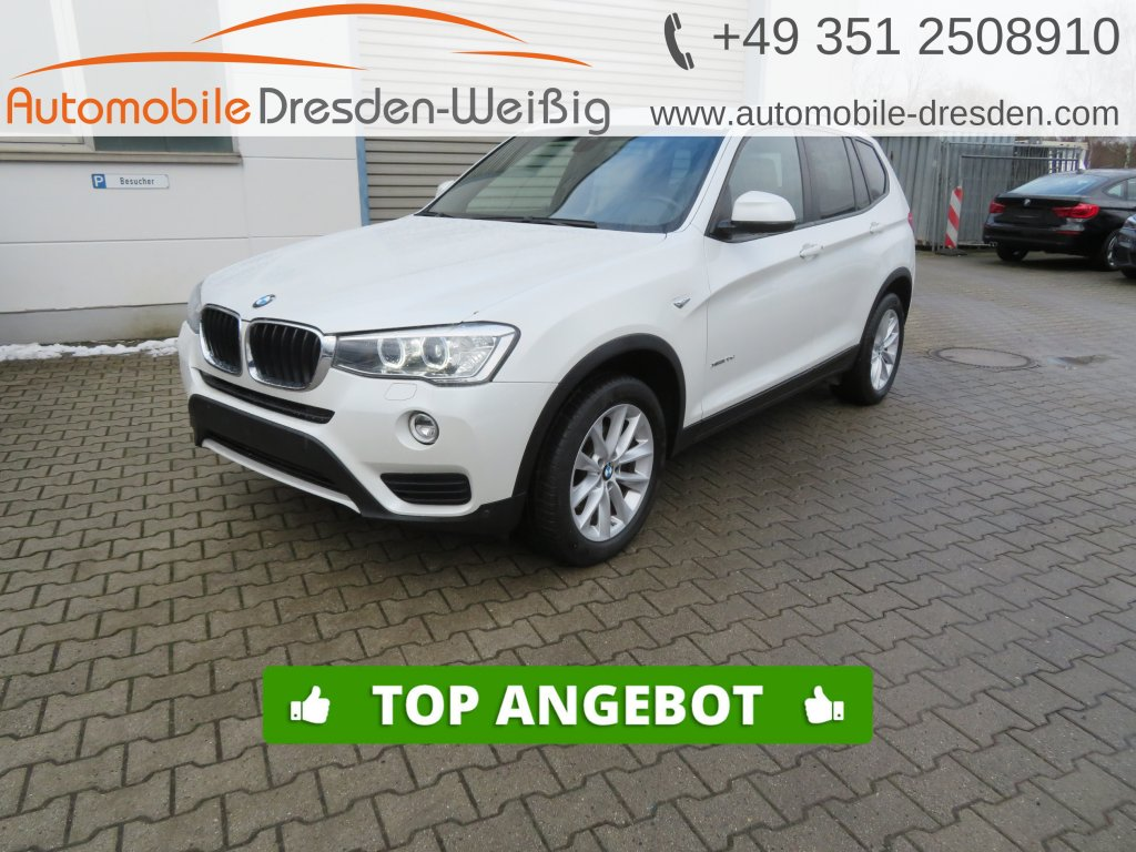 BMW X3 xDrive20d Advantage*Navi Prof*Leder*HiFi*AHK, Jahr 2017, Diesel