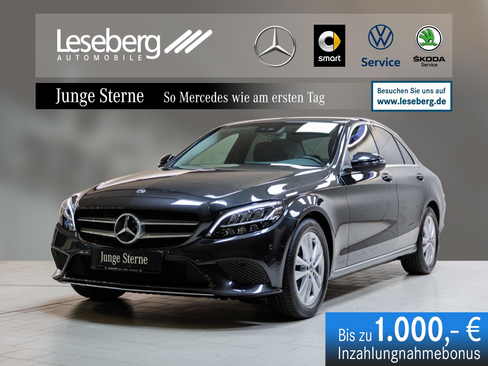 Mercedes-Benz C 180 Avantgarde/Kamera/LED/9G-Tronic/Navigation, Jahr 2020, Benzin