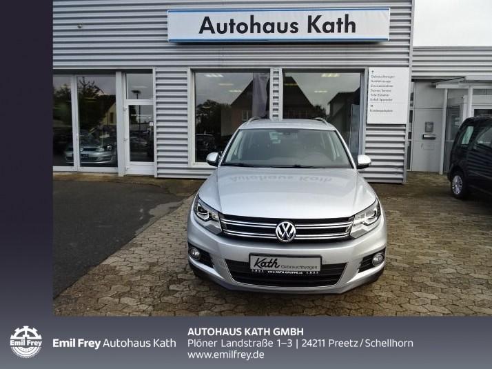 Volkswagen Tiguan 1.4 TSI BMT Sport&Style ,Xenon, Jahr 2012, Benzin