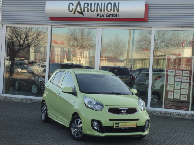Kia Picanto 1.2 Dream Team Edition KLIMA/SITZH./ALU, Jahr 2015, Benzin