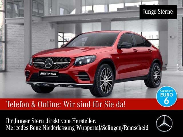 Mercedes-Benz GLC 43 4MATIC Coupé Sportpaket Bluetooth LED, Jahr 2016, Benzin