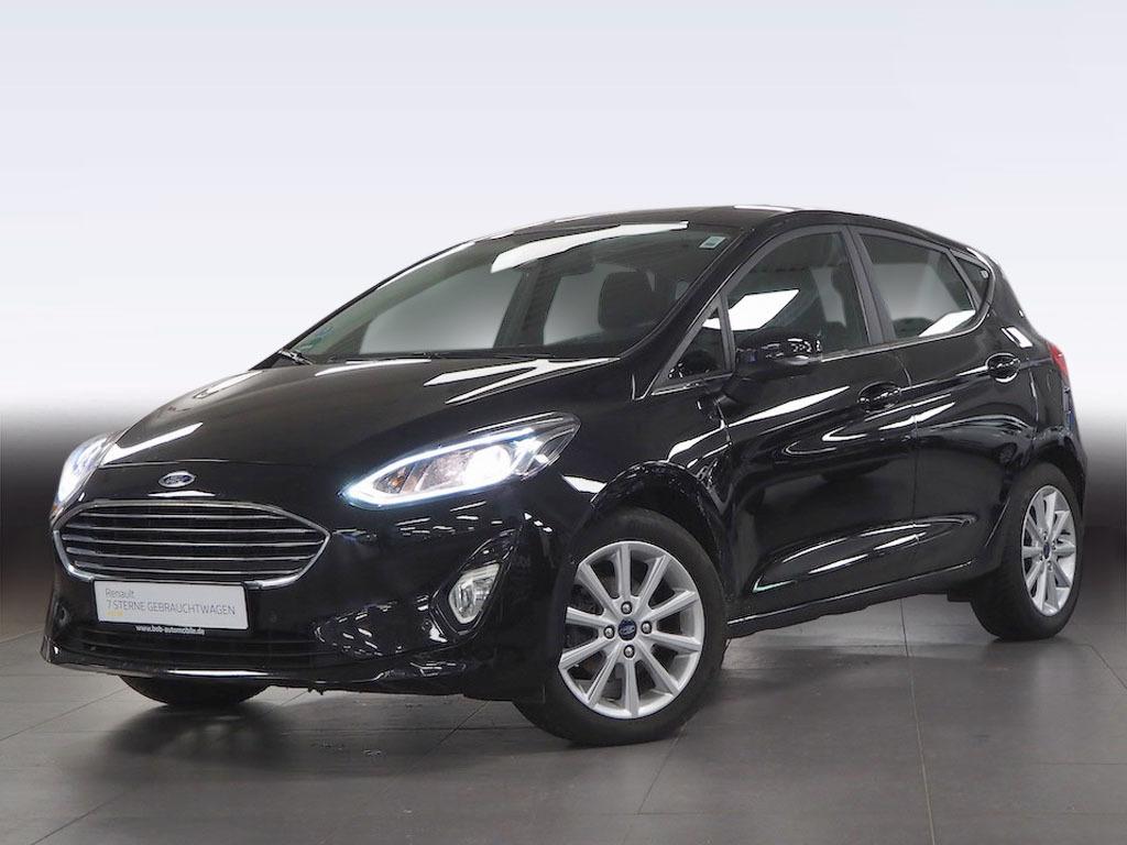 Ford Fiesta Titanium Kamera Carplay SHZ PDC KLIMA BT, Jahr 2018, Benzin