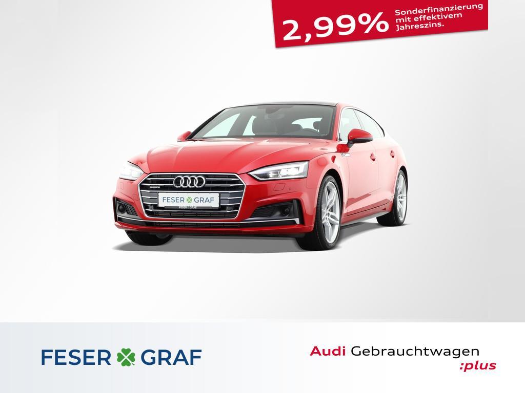 Audi A5 Sportback 3.0 TDI quattro 3x S line Alu-19`, Jahr 2018, Diesel