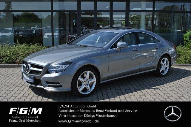 Mercedes-Benz CLS 500 4M AMG/Com/ILS/ExklusivP/Distr+/H&K/Memo, Jahr 2013, petrol