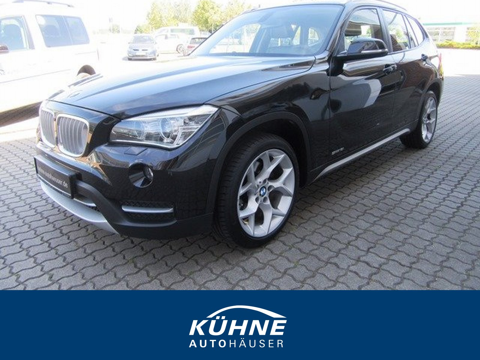 """BMW BMW X1 18i/Bi-Xenon/X-line/PDC/18"""" LM/SHZ/Tempom, Jahr 2012, petrol"""