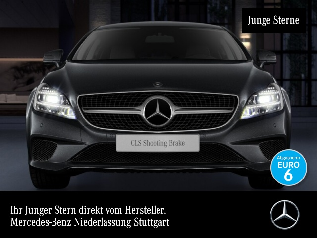 Mercedes-Benz CLS 220 d SB Sportpak Burmester Distr+ COMAND LED, Jahr 2016, Diesel