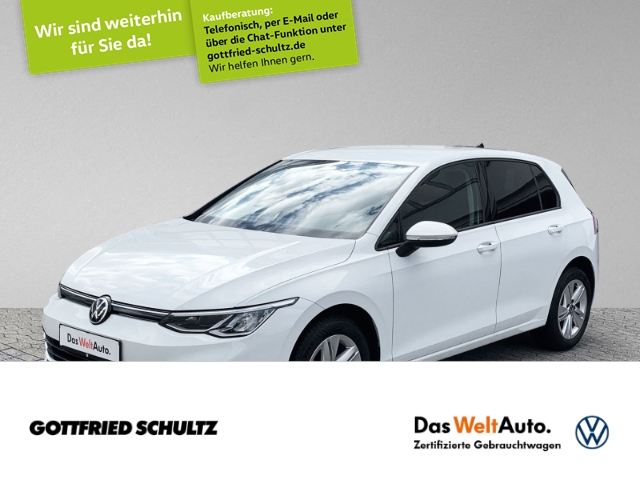 Volkswagen Golf 1.5 TSI LED NAVI DAB PDC SIH Comfortline, Jahr 2020, Benzin