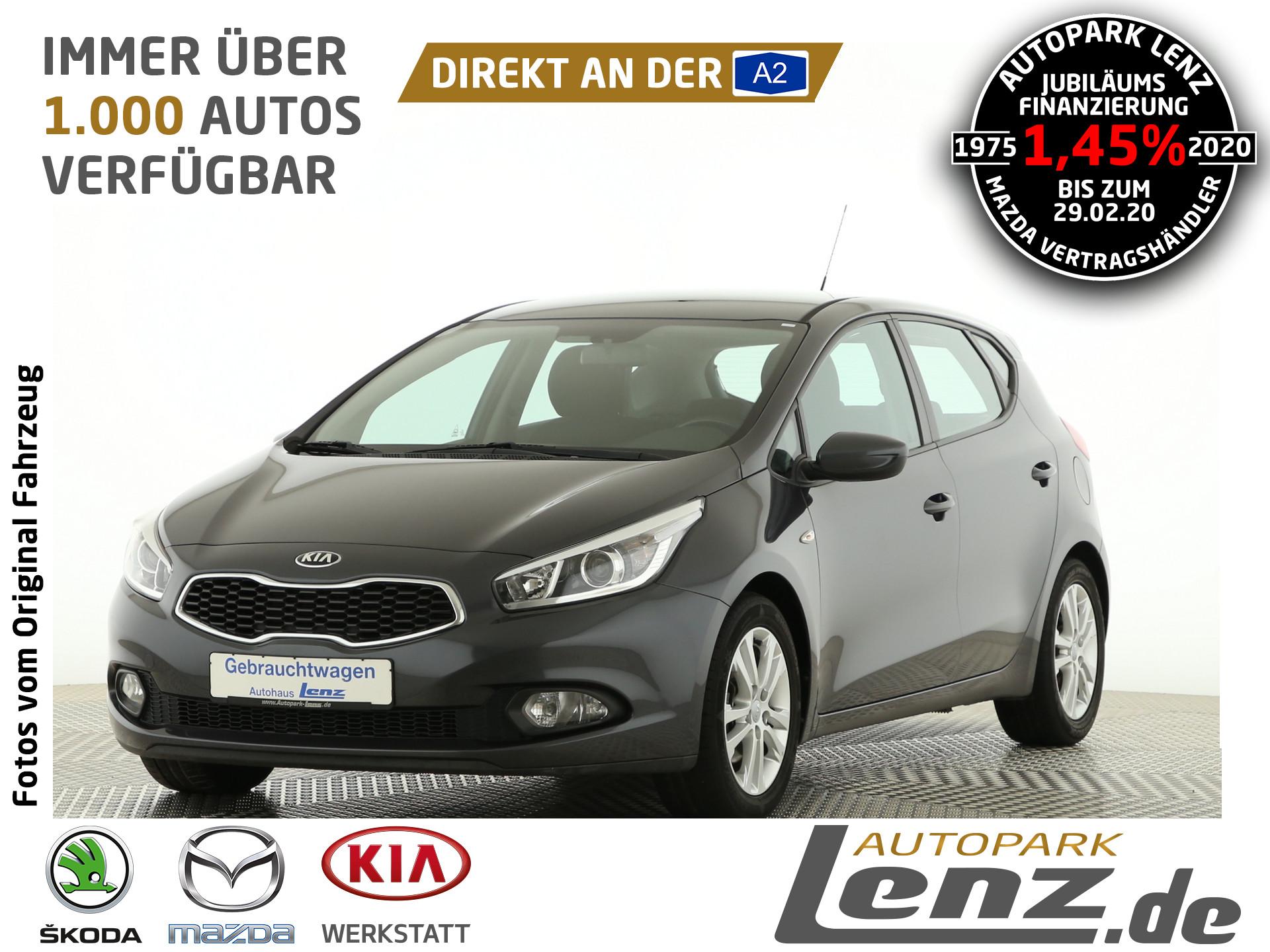 Kia Cee'd Edition 7 PDC SHZ FSE Klima Nebel, Jahr 2012, Benzin