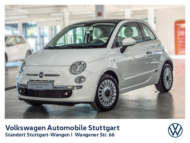 Fiat 500 1.2 8V Lounge Klima Bluetooth, Jahr 2014, Benzin