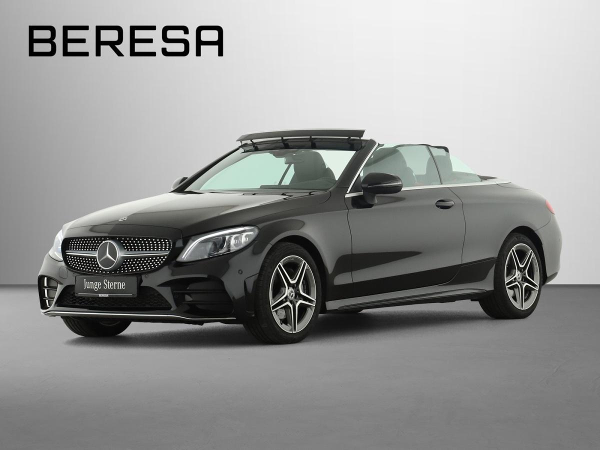 Mercedes-Benz C 200 4M Cabriolet AMG Designo HUD Comand, Jahr 2019, Benzin