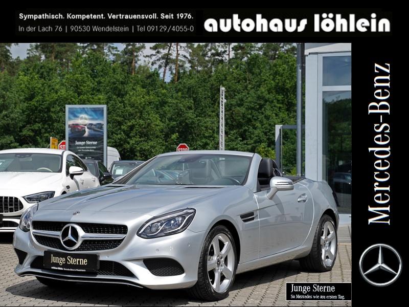Mercedes-Benz SLC 180 TOTWINKEL+LED+AIRSCARF+LEDER+SITZ-HZG, Jahr 2018, Benzin