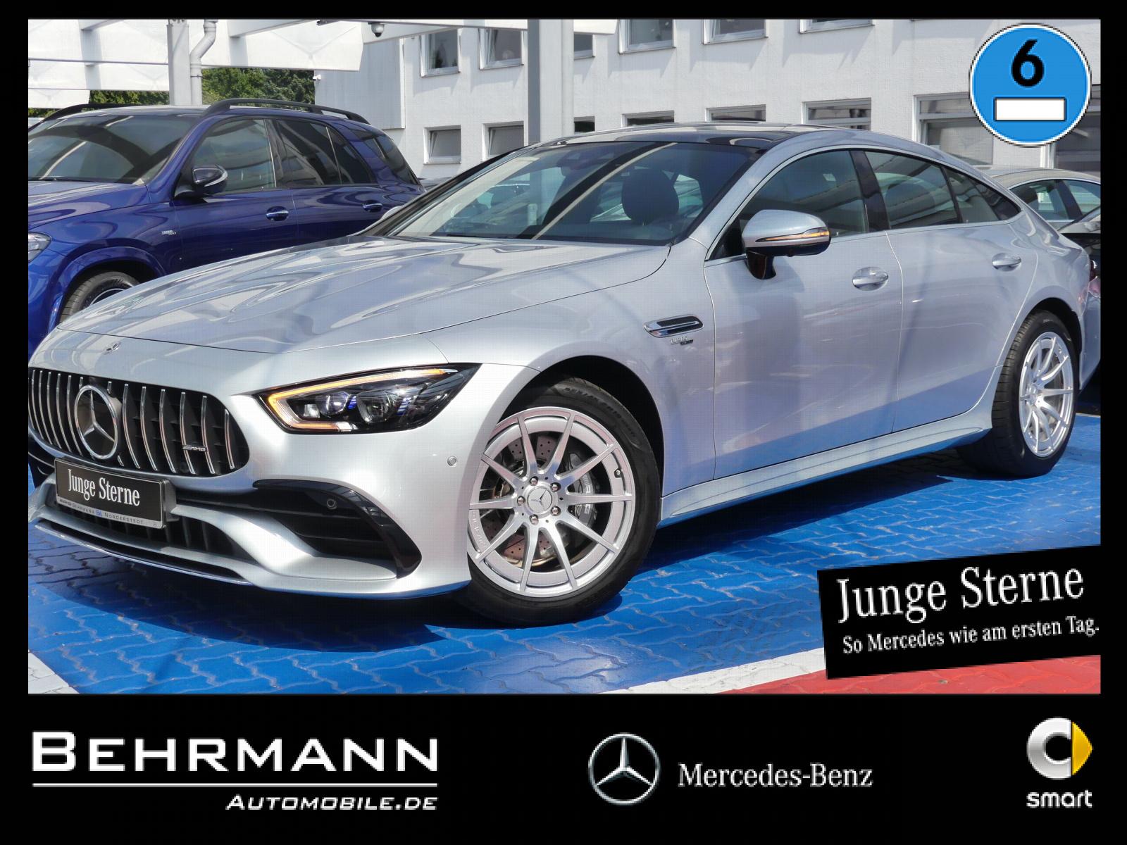 Mercedes-Benz AMG GT 43 4M +360°Kam+Distronic+AHK+StdHzg.+LED, Jahr 2020, Benzin