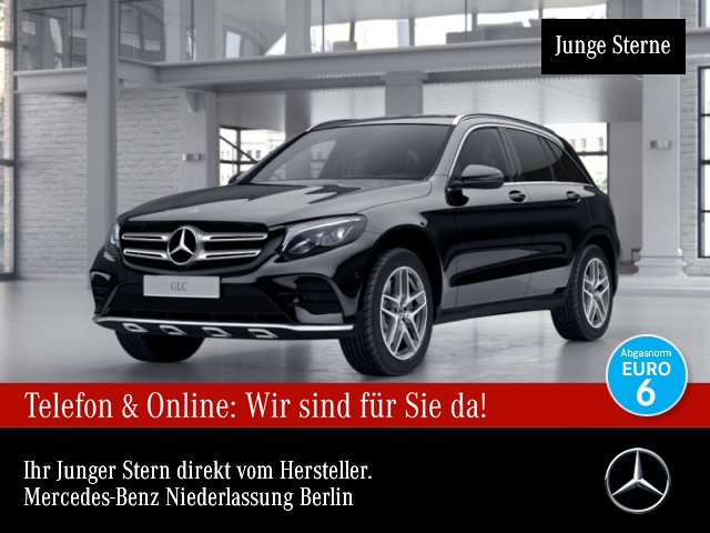 Mercedes-Benz GLC 250 4M AMG Burmester LED AHK Kamera Navi PTS, Jahr 2017, Benzin