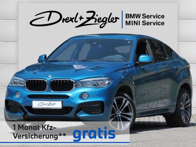 BMW X6 xDrive30d M Sport LED HuD HiFi Driv.A Alu20, Jahr 2018, Diesel