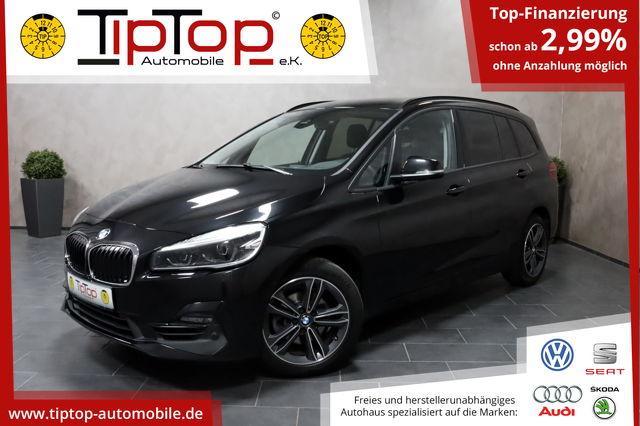 BMW 216 i Gran Tourer Sport Line 7-Sitzer LED NAVI, Jahr 2019, Benzin