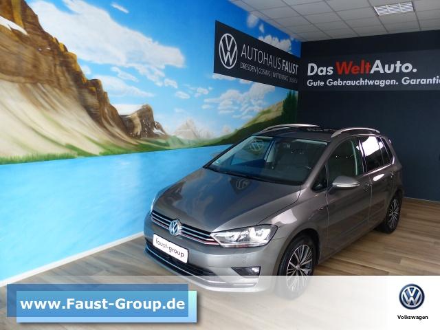 Volkswagen Golf Sportsvan LOUNGE UPE 32000 EUR Xenon, Jahr 2015, Diesel